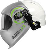 Сварочная маска e684 со строительной каской e684