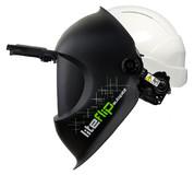 Сварочная маска liteflip autopilot со строительной каской liteflip autopilot